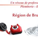 Plombier région bruxelloise