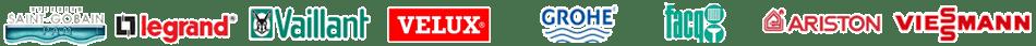 plombier chauffagiste logos