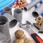 Matériel et accessoires de plomberie: tube , coude, et manchon PVC, tube PER, raccord laiton