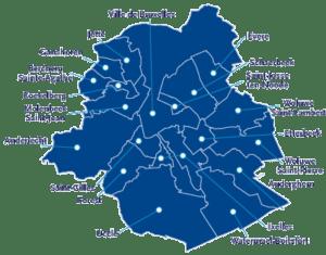 bruxelles map plomberie